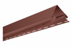 """Планка """"наружный угол"""" Красно-коричневая Т-12 - 3,00м (А)"""