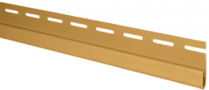 Планка финишная золотистая Т-14  -  3000 мм