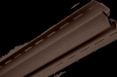 """Планка """"внутренний угол"""" коричневая Т-13  -  3,00м. """"BH"""""""