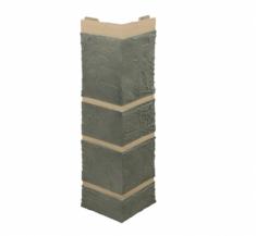 Наружный угол камень (серый), 0,47 х 0,11м
