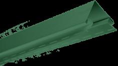 """Планка """"наружный угол"""" Зелёная Т-12 - 3,00м"""
