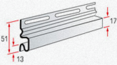 Планка начальная Т-11, 3000 мм, цвет Белый