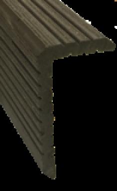 Уголок ДПК для досок Deckron, Darvolex, Ecodeck