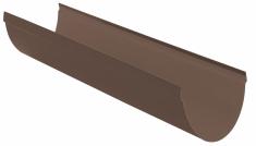 Жёлоб водосточный ПВХ, цвет коричневый